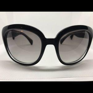 Alexander McQueen Black Basic Chic Sunglasses